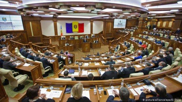 Moldova parlamenti hökumətə etimadsızlıq göstərib