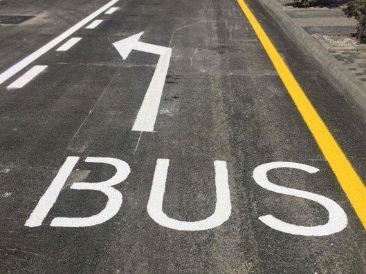 Bakıda daha 19 küçə və prospektdə avtobus zolaqları təşkil edilə bilər