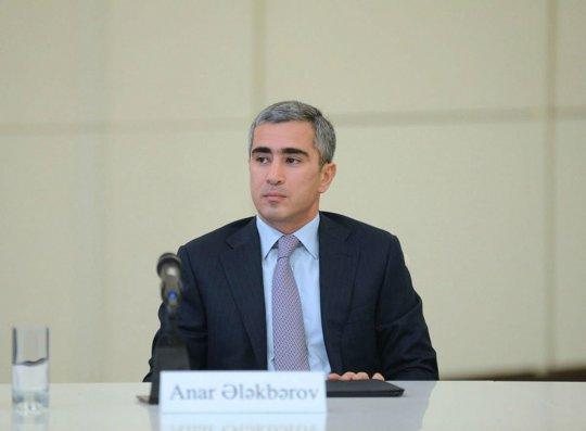 Anar Ələkbərov Prezidentin köməkçisi təyin edilib