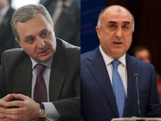 Bu gün Azərbaycan və Ermənistan XİN başçılarının görüşü olacaq