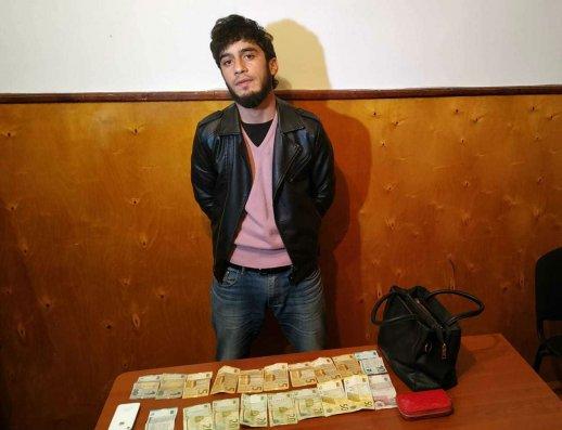 Astarada qadına qarşı soyğunçuluq edən şəxsdən narkotik götürülüb – FOTO