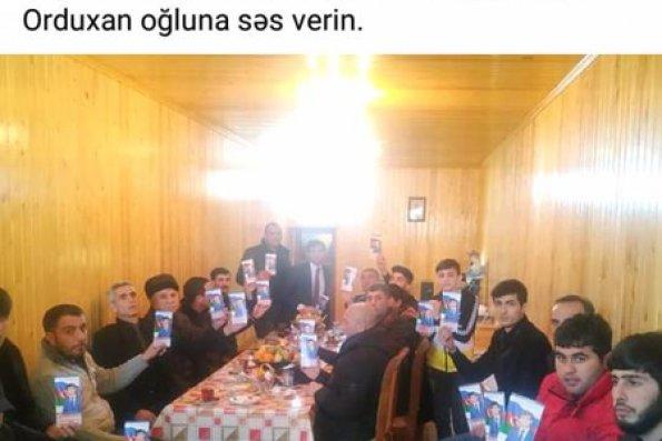 Niyaməddin Orduxanlı seçicilərlə görüşə başlayıb - FOTOLAR