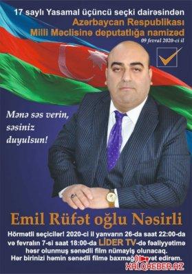 Ölkə başçısının siyasətini, həyata keçirdiyi sosial-iqtisadi strategiyanı, islahatları hər zaman dəstəkləyəcəyəm