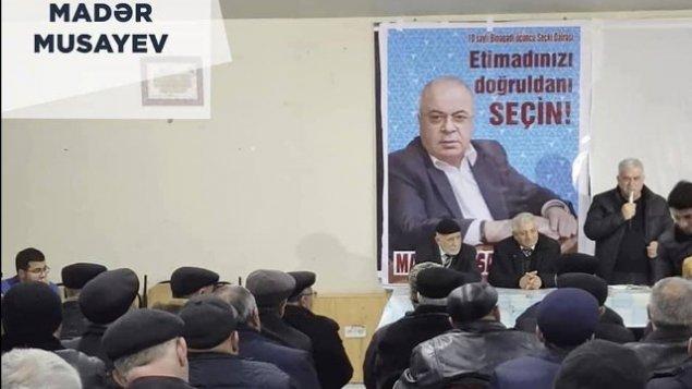 Madər Musayevin təbliğat-təşviqat kampaniyası uğurla başa çatdı - FOTOLAR