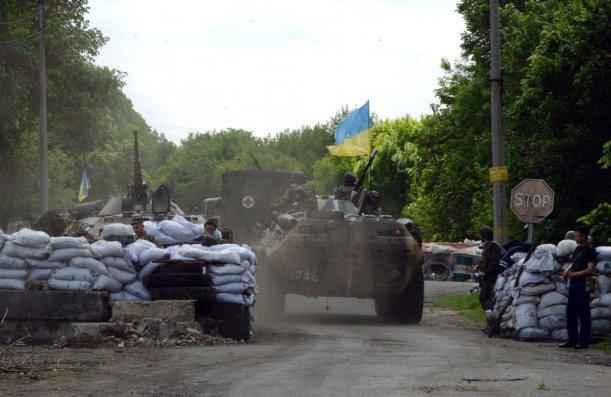 Ukraynada döyüşlər dayandırıldı - Ölənlər və yaralananlar var