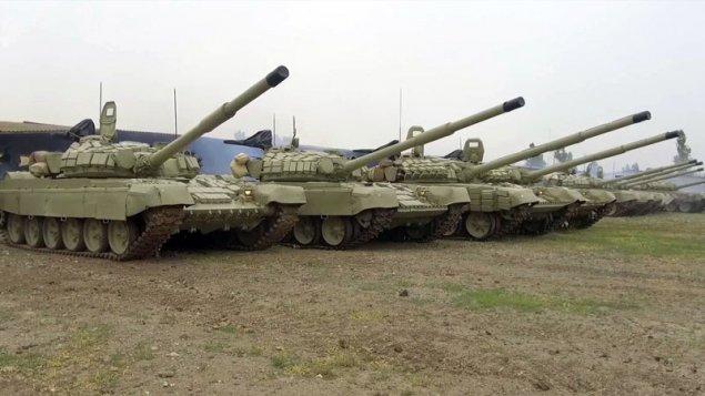 Ordumuzun təlimlərinə hansı tanklar cəlb olunub?
