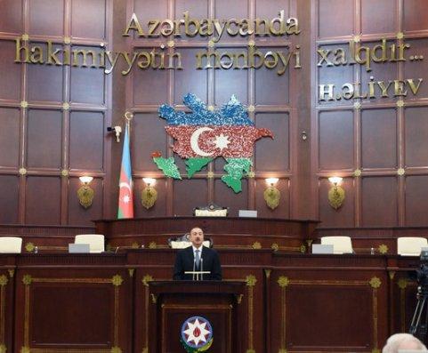 Prezident Milli Məclisin iclaslarına gələndə Dövlət himni ifa ediləcək