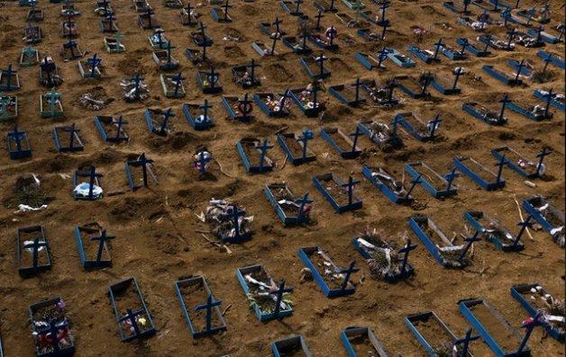 Braziliyada bir gündə COVD-19-dan 1 000-dən çox insan ölüb