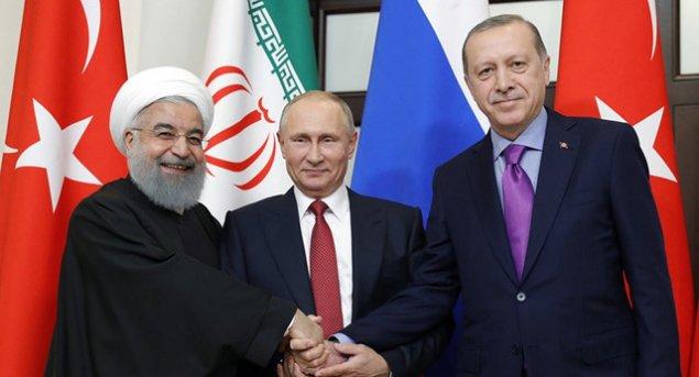 Putin, Ərdoğan və Rühani Suriyadakı vəziyyəti müzakirə edəcəklər