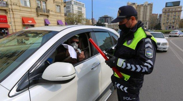 DYP: İcazəsi olmadan postlardan keçmək istəyən 3158 avtomobil geri qaytarılıb