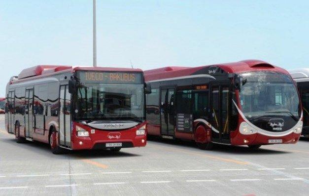 Bu gündən Bakıda avtobusların fəaliyyəti dayandırıldı