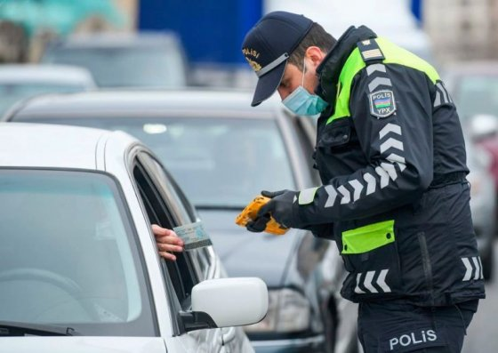 DYP: 1 310 nəfər cərimələndi, 385 avtomobil postlardan geri qaytarıldı