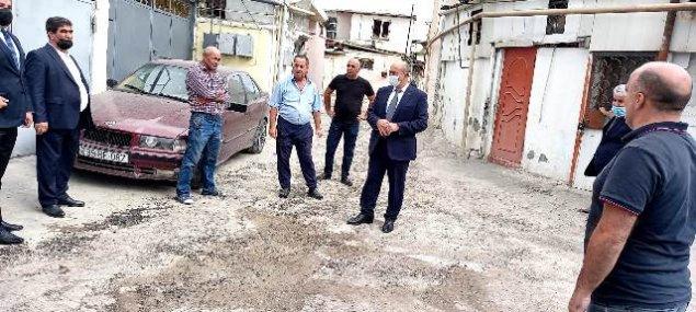 Rayon İcra Hakimiyyətinin başçısı 3-cü Alatavada sakinlərlə görüşdü - FOTOLAR