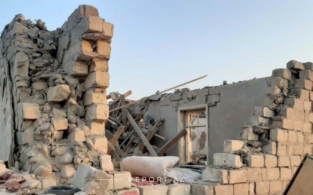 Gəncədə raket zərbələri nəticəsində 20-yə yaxın ev dağılıb  - VİDEO