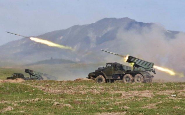 MN: Ermənistan Tərtər rayonunun ərazisi yenidən atəşə tutub
