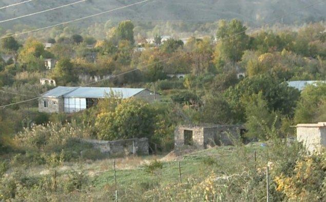 Qubadlının işğaldan azad olunan Qiyaslı və Sarıyataq kəndlərinin görüntüləri  - VİDEO