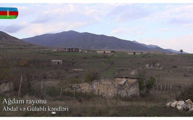 İşğaldan azad olunmuş Abdal və Gülablı kəndlərinin görüntüləri  — VİDEO