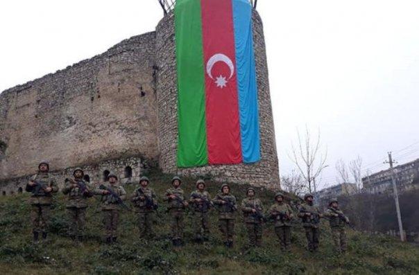 Azərbaycan Ordusunda Vətən müharibəsi şəhidlərinin xatirəsi anıldı— VİDEO