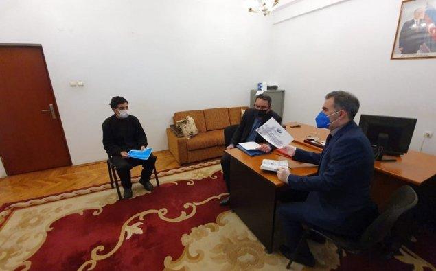 Ombudsmanın nümayəndələri erməni əsir və girovlara baş çəkib