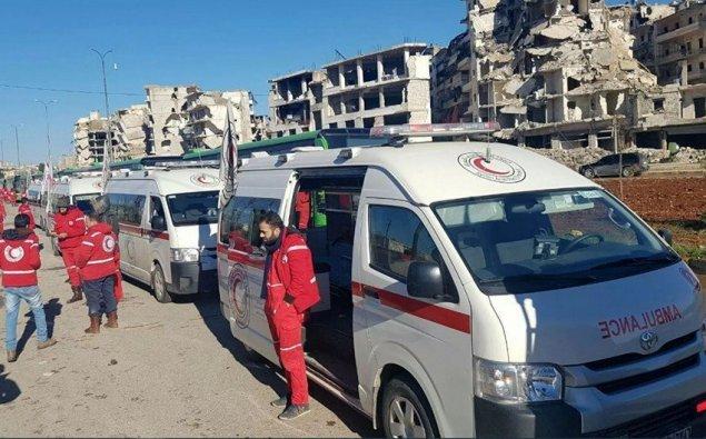 Suriyada terrorçuların avtobuslara hücumu zamanı ölənlərin sayı artıb