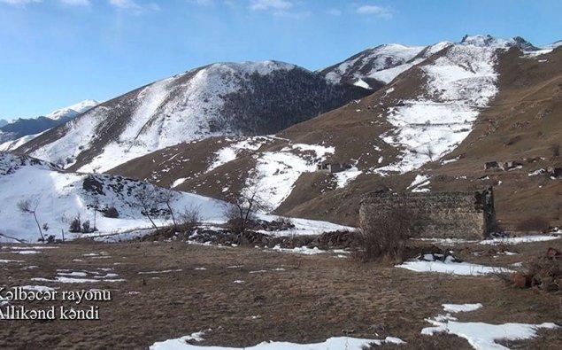 Kəlbəcər rayonunun Allıkənd kəndi - VİDEO
