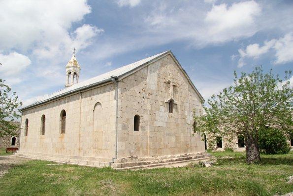 Ermənilər Amaras monastrını ziyarət edib