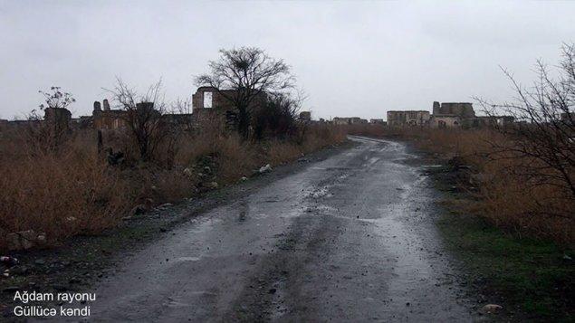 Ağdamın Güllücə kəndi - VİDEO