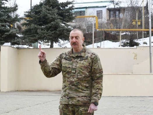 """Azərbaycan Prezidenti: """"Dırnaqarası """"Artsax dövləti"""" – cəhənnəmə getdi"""""""