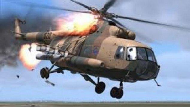 Rusiya FHN-in helikopteri qəzaya uğradı, ölən var