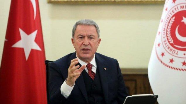 Hulusi Akar Ermənistan rəhbərliyinə müraciət etdi