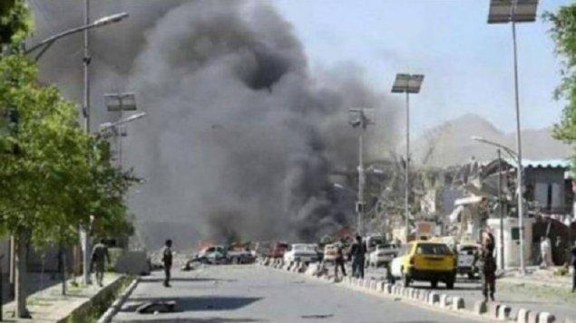 Əfqanıstanda binaya raket atıldı: Yaralılar var