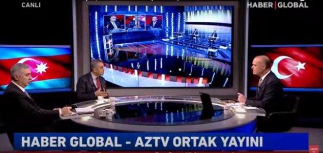 """AzTV və """"Haber Global""""ın ortaq efirində Baydenin qondarma soyqırımı bəyanatı müzakirə olunur - CANLI"""