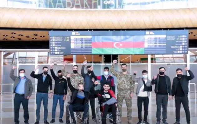 Daha 13 qazimiz Türkiyəyə göndərildi - Video