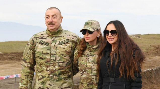 Prezident və birinci xanımın Cəbrayıl və Zəngilan səfəri (FOTO/YENİLƏNİB)