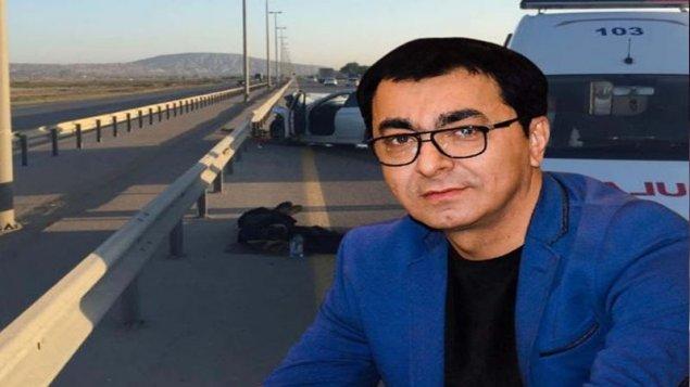 Aslan Hüseynovun öldüyü dəhşətli qəzadan görüntülər (FOTO)