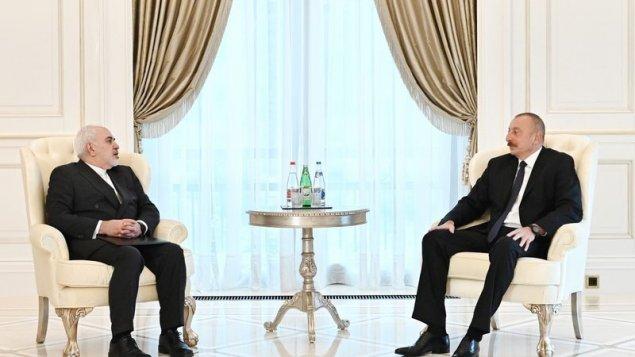 Prezident Cavad Zərifi və Erik Rondolatı qəbul etdi (YENİLƏNİB)