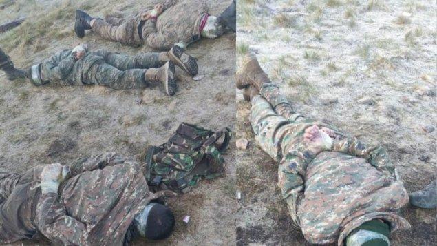 Ordumuz erməni diversantları belə əsir götürdü - FOTO