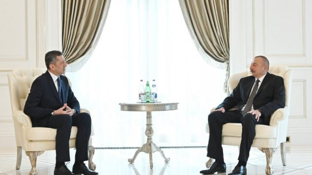 Prezident İlham Əliyev Türkiyənin milli təhsil nazirini qəbul etdi (YENİLƏNİB)