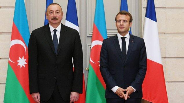 Emmanuel Makron Azərbaycan Prezidentinə məktub yazdı