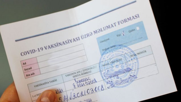 COVID-19 pasportu - Bizə hansı üstünlükləri verəcək?