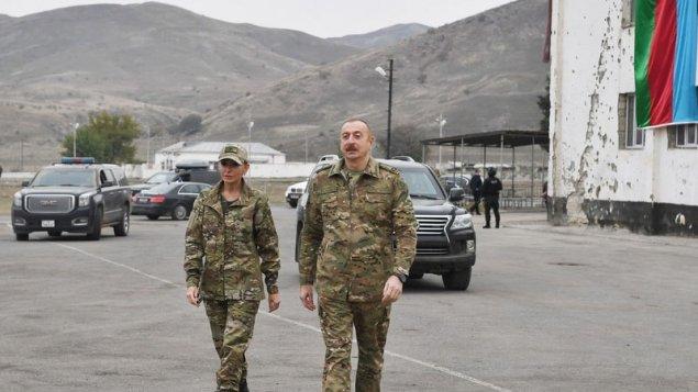 Prezident və birinci xanım Füzulidə (YENİLƏNİB)