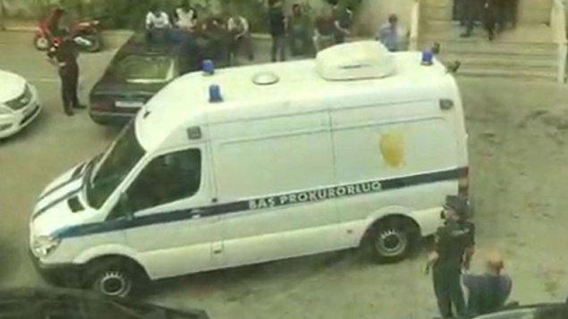 Polis rəisinin özünü öldürdüyü yerdən görüntülər (VİDEO)