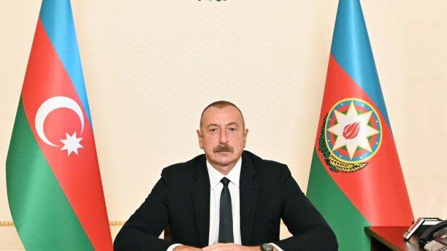 Dövlət başçısı Goranboyda səfərdədir