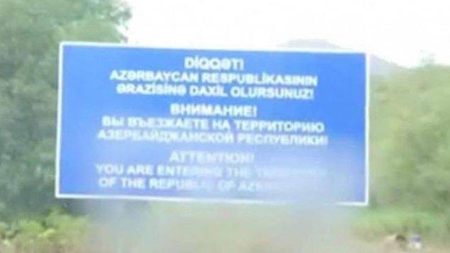 Erməniləri təşvişə salan lövhə