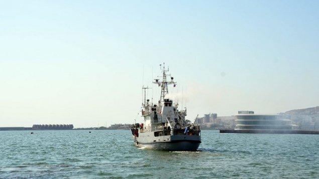 Rusiya Xəzər flotiliyasının hərbi gəmiləri Bakı limanını tərk etdi