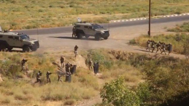 Xüsusi təyinatlı bölmələrdə terrorla mübarizə təlimi keçirildi (VİDEO)
