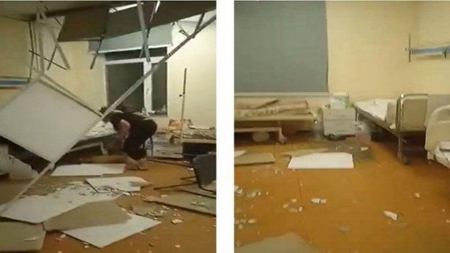 Batumidə uşaq xəstəxanasında tavan uçdu