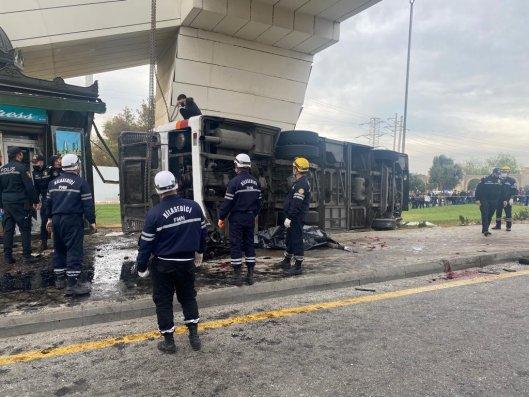 Aeroport yolunda baş verən ağır qəza ilə bağlı cinayət işi açıldı